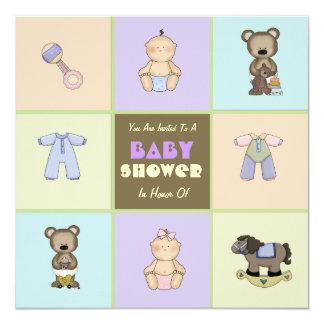 Little Necessities Baby Shower Invitation