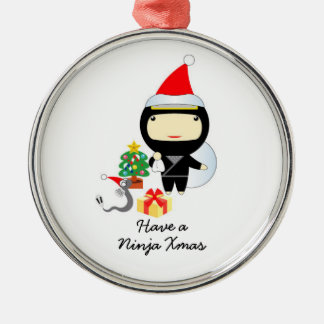 Little Ninja Christmas Ornament