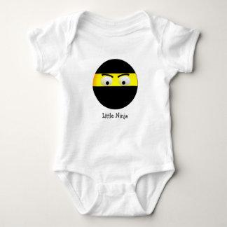 Little Ninja Emoji Baby Bodysuit