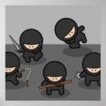 Little Ninjas Poster