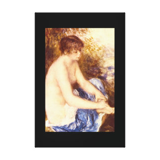 Little Nude in Blue_Impressionists Canvas Print