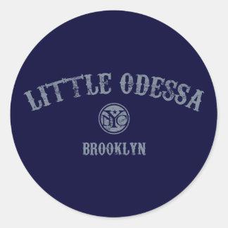 Little Odessa Classic Round Sticker