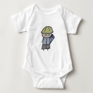Little One architect baby bodysuit