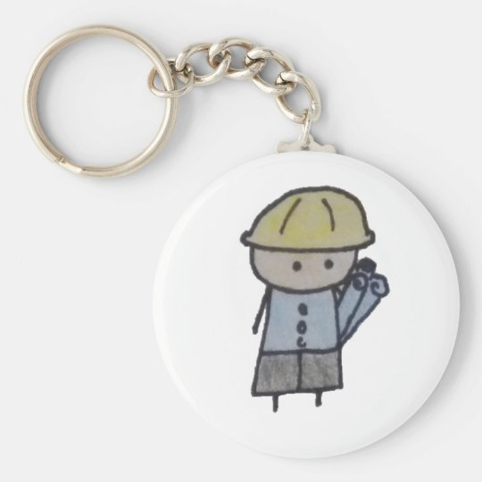 Little One architect keychain