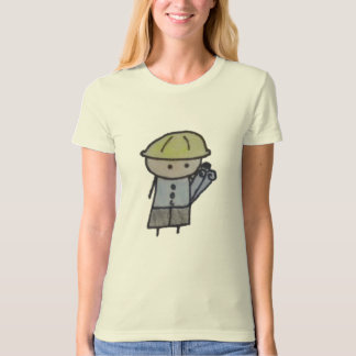Little One architect womens organic fitted t-shirt
