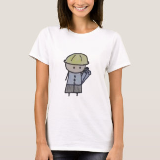 Little One architect womens tshirt