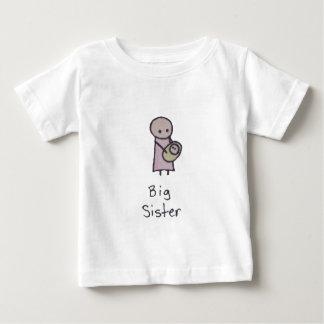Little One big sister baby tshirt