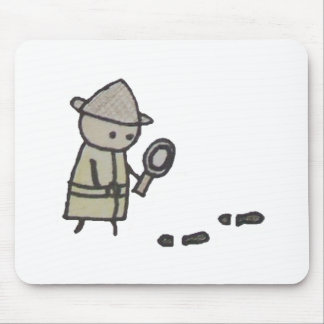 Little One detective mousepad