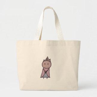 Little One princess jumbo tote Canvas Bag
