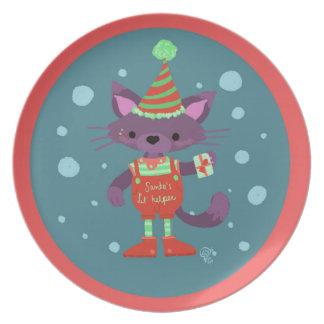 Little Ones! Holiday Season! Plate