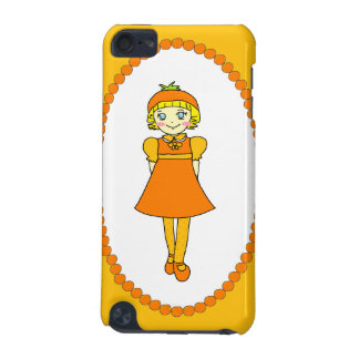 Little Orange Fruit Girl iPod Touch 5G Covers