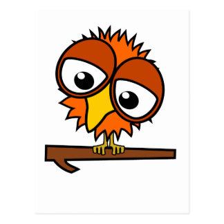 Little Orange Tweet Postcard