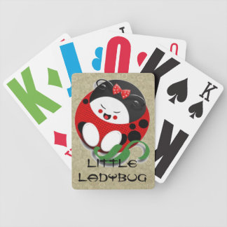 Little Oriental Ladybug Bicycle Playing Cards