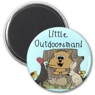 Little Outdoorsman Fridge Magnets