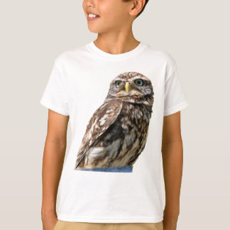 Little owl bird beautiful photo kids t-shirt