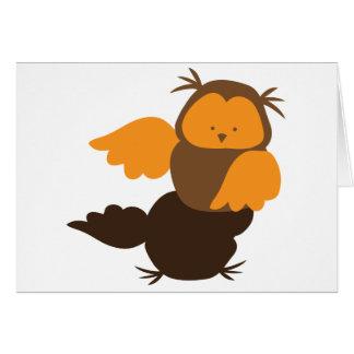 Little Owl cutie Showoff Card
