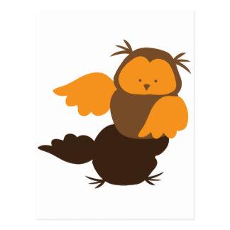Little Owl cutie Showoff Postcards