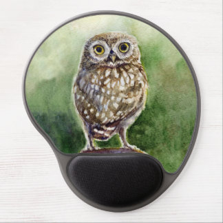 Little owl gel mouse pad