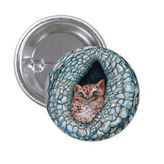 Little Owlette 3 Cm Round Badge
