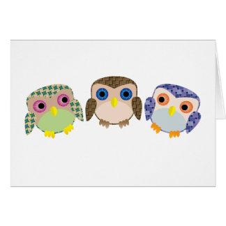 Little Owls Card
