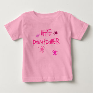 Little Paintballer Baby T-Shirt
