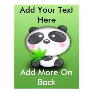 Little Panda Cub Custom Flyer