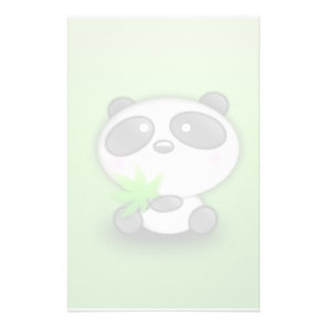 Little Panda Cub Stationery
