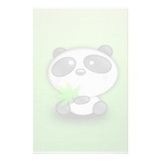 Little Panda Cub Stationery Paper