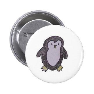 Little penguin button