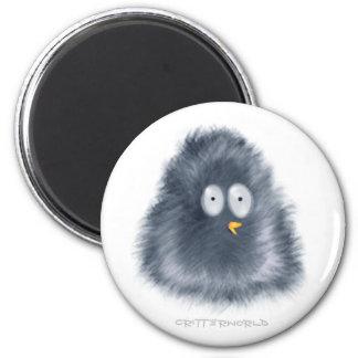 Little Penguin Critter 6 Cm Round Magnet