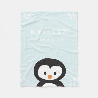 Little Penguin Fleece Blanket