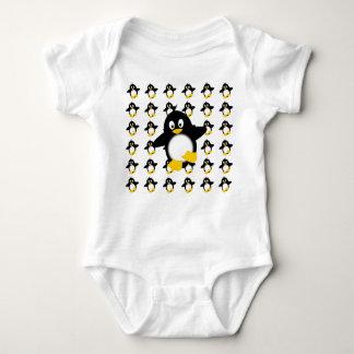 Little Penguins Baby Bodysuit