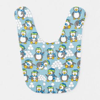 Little penguins background bibs