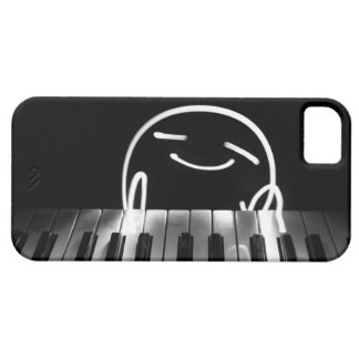 Little Piano Player Case For The iPhone 5