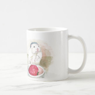 Little Pierro the Hamster with Strawberry Coffee Mug