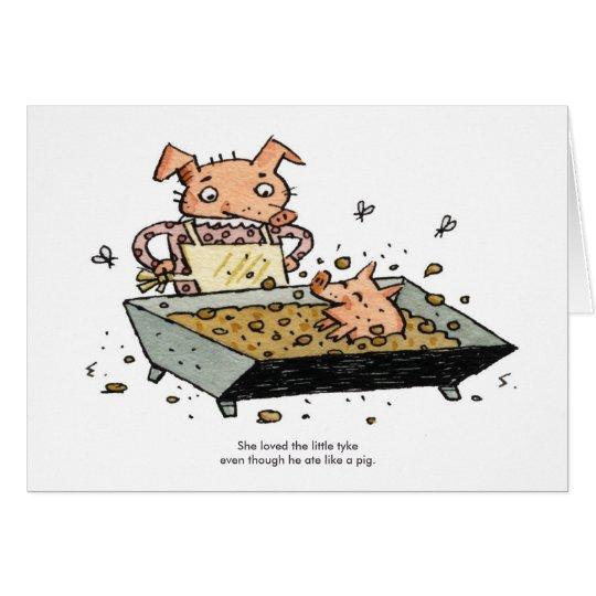 Little Pig Card