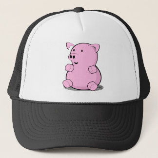 little-pig trucker hat