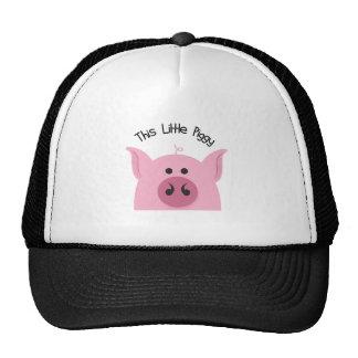 Little Piggy Trucker Hat