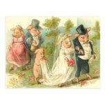 Little Piggy Wedding Post Cards