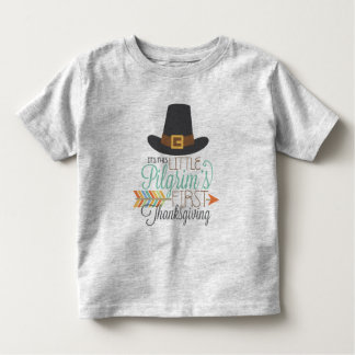 Little Pilgrim's First Thanksgiving toddler Toddler T-Shirt