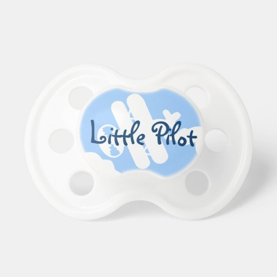 Little pilot baby pacifier | Aeroplane Soother