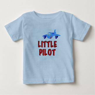 Little Pilot Baby T-Shirt