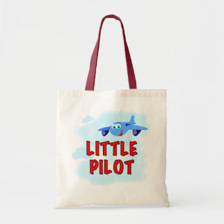 Little Pilot Tshirts and Gifts Tote Bag