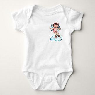 Little Pink Ballet Angel on a Cloud T-shirt Kids
