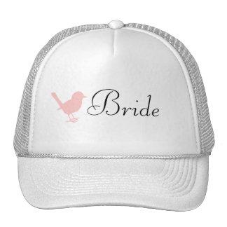 little pink bird cap