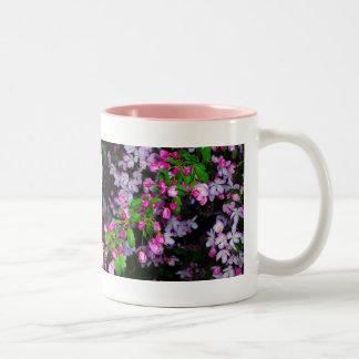 Little Pink Buds.... Two-Tone Mug