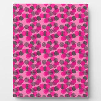Little Pink Dots Plaque