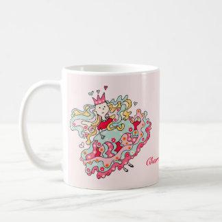 Little Pink Flower Princess Mug