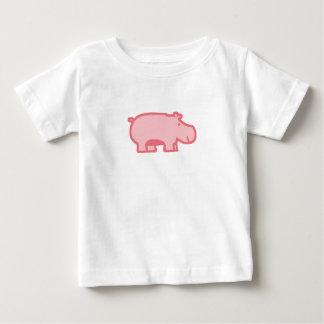 Little Pink Hippo Tee Shirt