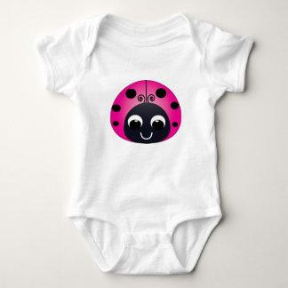 Little Pink Ladybug Baby Bodysuit